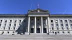 Das Bundesgericht in Lausanne - viele Freiheitsstrafen verordnet nicht der Richter.
