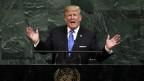 Drohte Trump in seiner Rede vor der Uno-Generalversammlung mit Krieg oder setzt er auf Diplomatie?