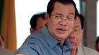 Kambodschas Premierminister Hun Sen.