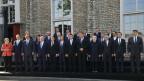 Die EU-Staats- und Regierungschefs in Tallinn.