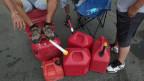 Auf Puerto Rico hat es nicht genug Benzin. Hilfsgüter können nicht verteilt werden.