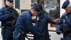 Polizeikontrollen in Frankreich.
