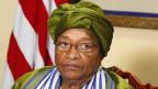 Liberias Präsidentin Ellen Johnson-Sirleaf.