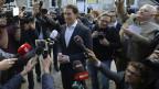ÖVP-Spitzenkandidat Sebastian Kurz gibt sich siegessicher.