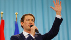 ÖVP-Spitzenkandidat Sebastian Kurz hat bis jetzt 31,6 Prozent der Stimmen erreicht.