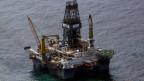 Ölplattform im Golf von Mexiko.