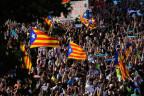Grossdemonstration in Barcelona