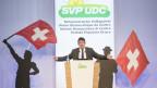 SVP-Parteipräsident Albert Rösti vergleicht den radikalen Islam mit einem bösen Wolf.