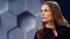 Katrin Jakobsdottir vom grün-linken Bündnis gehört zu den Gewinnerinnen der Wahlen in Island.
