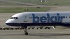 2001 wurde aus der «Balair» die «Belair», hier auf dem Flughafen Zürich.