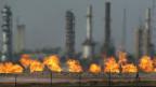 Oelraffinerie im Norden von Irak.