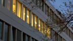 Die Fassade des Hauptsitzes der Firma Glencore in Zug.