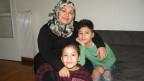 Ola Darouzi und ihre Kinder.