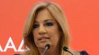 Die 53jährige Politikwissenschaftlerin Fofi Gennimata stammt aus einer einflussreichen griechischen Politikerfamilie.