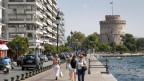 Der Weisse Turm, das Wahrzeichen von Thessaloniki.