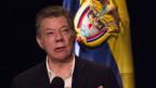 Kolumbiens Präsident Juan Manuel Santos.