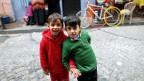 Syrische Kinder in Istanbul. Symbolbild.