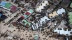 Luftaufnahme von Sint Maarten nachdem die Insel von «Irma» verwüstet worden ist.