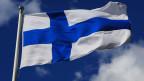 Die finnische Flagge.