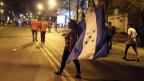 Proteste in Tegucigalpa, Honduras.