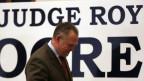 Das Bild zeigt den Republikaner Roy Moore, der die Senatswahlen im US-Bundesstaat Alabama verloren hat.