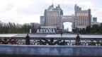 Astana, die Hauptstadt von Kasachstan.