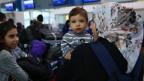 Eine syrische Familie darf von Griechenland nach Frankreich umziehen.
