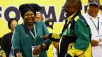 Die beiden Kandidaten für die Nachfolge von Jacob Zuma am ANC-Parteikongress.