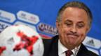 Witali Mutko tritt als Cheforganisator der WM 2018 in Russland zurück.