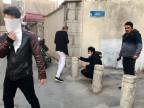 Tränengas gegen Protestierende in Teheran