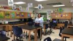 1.Das Klassenzimmer – seit 2003 werden den öffentlichen Schulen das Budget zusammengestrichen.