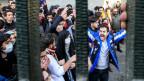 Ende Dezember protestierten Studenten in der Universität in Teheran gegen die Regierung. Archivbild 30. Dezember 2017.
