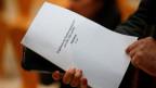Das Papier zu den Sondierungsgesprächen von SPD und Union.