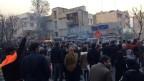 Proteste in Teheran. Archivbild vom Dezember 2017.