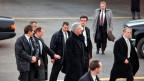 Donald Trump ist erst der zweite amtierende US-Präsident, der nach Davos reist. Im Jahr 2000 besuchte Bill Clinton das WEF.