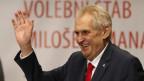 Milos Zeman, der neue und alte Präsident der Tschechischen Republik.