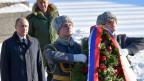 Der russische Präsident Wladimir Putin, links, in Wolgograd am 2. Februar 2018.