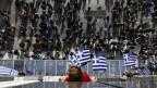 «Mazedonien ist griechisch und nur griechisch», skandieren nationalistische Demonstranten in Athen.