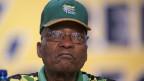 Südafrikas Präsident Jacob Zuma in Johannesburg.