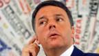 Premier Matteo Renzi.