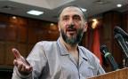 Der iranische Kleriker und Reformer bei einer gerichtlichen Anhörung im Jahr 2009.