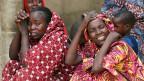 Verwandte von vermissten Schulmädchen nach einem Angriff auf das Dorf Dapchi im nordöstlichen Bundesstaat Yobe durch Boko Haram am 23. Februar 2018.