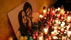 Mahnwache für den ermordeten slowakischen Journalisten Jan Kuciak und seine Verlobte Martina in Bratislava, Slowakei.