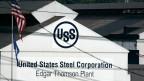 Das Werk der Montreal Works der United States Steel Corporation in Braddock, Pennsylvania.