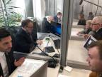 In einem Wahlkampfbüro in Moskau