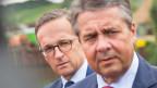Heiko Maas (links) und Sigmar Gabriel.