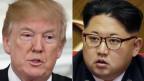 Wollen sich treffen: US-Präsident Donald Trump und der Nordkoreanische Machthaber Kim Jong Un.