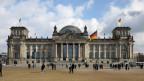 Das Reichstagsgebäude, Sitz des Deutschen Bundestages, in Berlin.