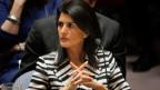 Die USA stünden voll und ganz hinter Grossbritannien, sagt Uno-Botschafterin Nikki Haley.