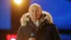 Wladimir Putin nach seinem Wahlsieg.